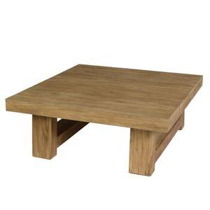 table basse de jardin en teck achat vente table basse de jardin en teck pas cher cdiscount. Black Bedroom Furniture Sets. Home Design Ideas