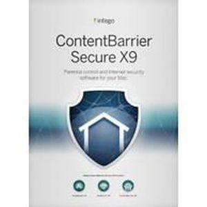 LOGICIEL À TÉLÉCHARGER Intego ContentBarrier Secure X9 - 1 poste - 1 an