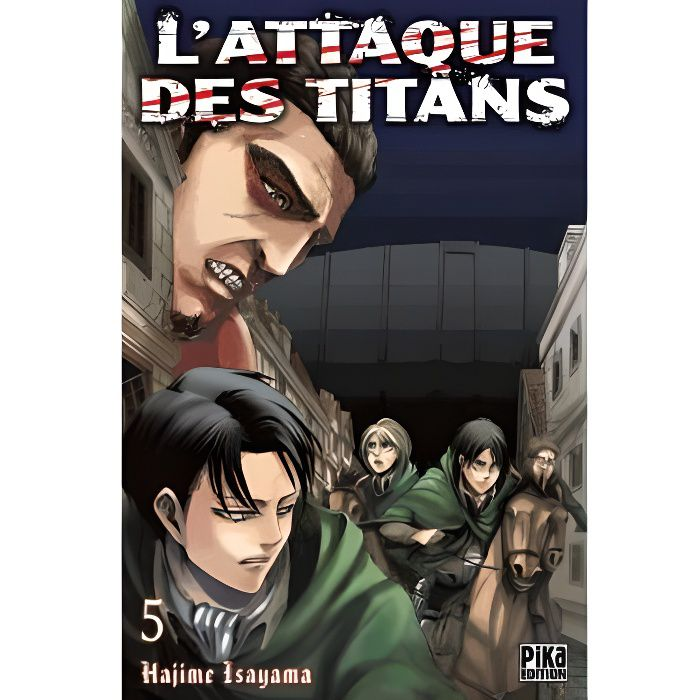 MANGA L'attaque des titans Tome 5