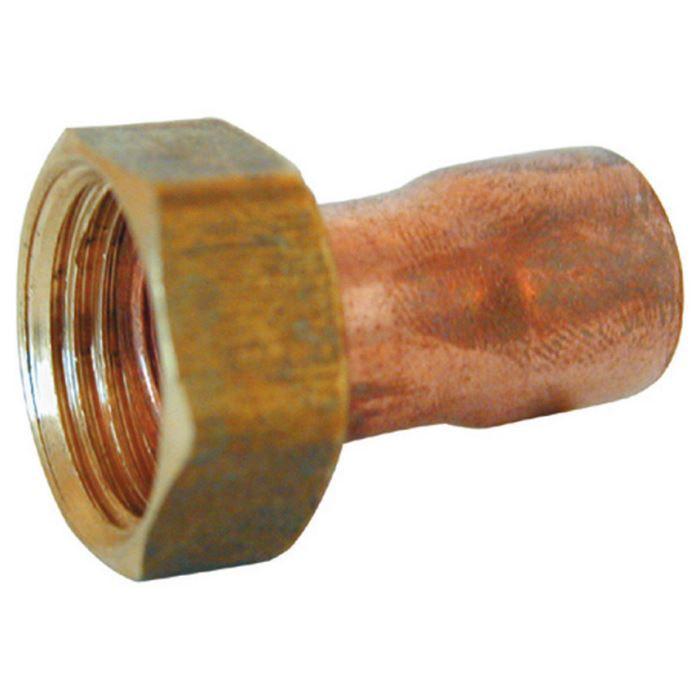raccord souder fer cuivre joint plat douille cuivre femelle crou prisonnier laiton. Black Bedroom Furniture Sets. Home Design Ideas