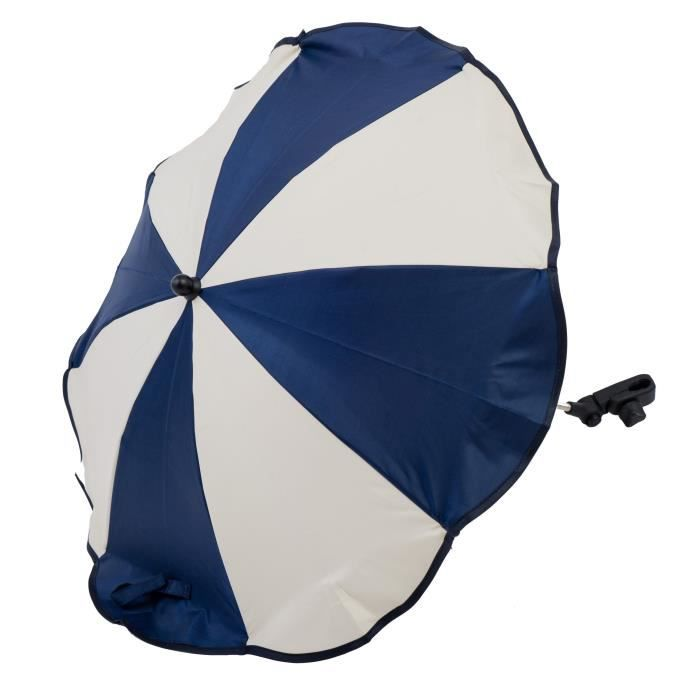 altabebe al7001 28 ombrelle anti soleil pour poussette universel anti uv 50 bleu marin beige. Black Bedroom Furniture Sets. Home Design Ideas