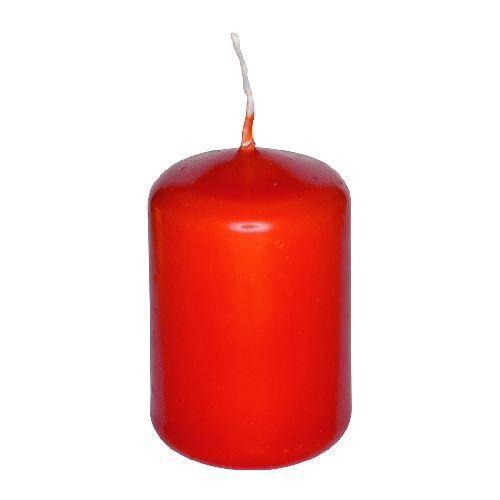bougie cylindrique color e longue dur e rouge achat vente bougie d corative cdiscount. Black Bedroom Furniture Sets. Home Design Ideas