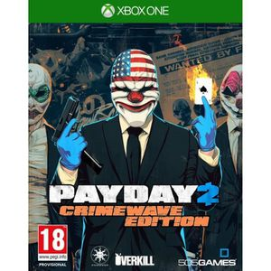 Payday 2 Edition Crimewave Jeu XBOX One