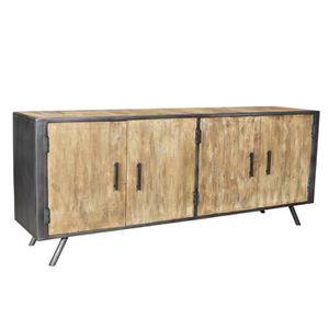 buffet grande longueur achat vente buffet grande longueur pas cher les soldes sur. Black Bedroom Furniture Sets. Home Design Ideas