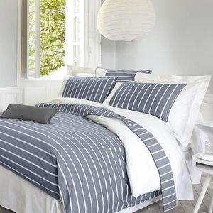 housse de couette marine achat vente housse de couette marine pas cher. Black Bedroom Furniture Sets. Home Design Ideas