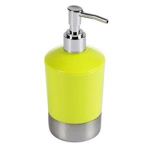 maison r distributeur de savon vert
