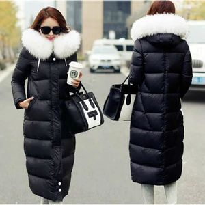 MANTEAU - CABAN Nouveau Épaissir Longue Manteau Femme Solide Co...