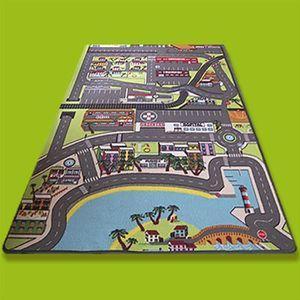 tapis circuit de voitures achat vente tapis circuit de voitures pas cher les soldes sur. Black Bedroom Furniture Sets. Home Design Ideas