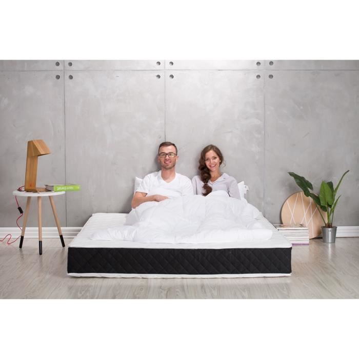 matelas freesia dream visco latex 120x190 achat vente matelas cdiscount. Black Bedroom Furniture Sets. Home Design Ideas