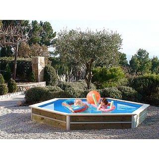 Kit piscine hors sol bois water clip baby osla achat for Piscine hors sol bois occasion