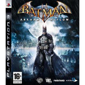 JEU PS3 BATMAN ARKHAM AZYLUM PLAT PS3
