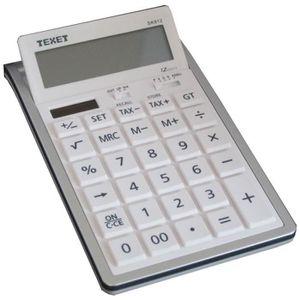 CALCULATRICE Calculatrice de bureau plexi design noir