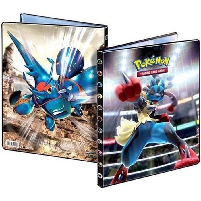 pokemon xy 03 cahier range cartes a4 180 cartes achat vente carte a collectionner cdiscount. Black Bedroom Furniture Sets. Home Design Ideas