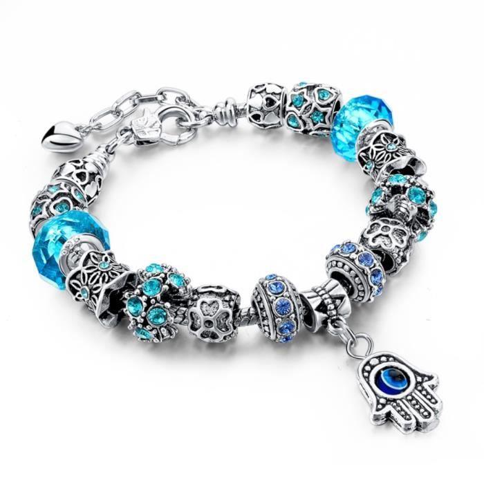 Bracelet Pandora Rose Et Bleu | IUCN Water