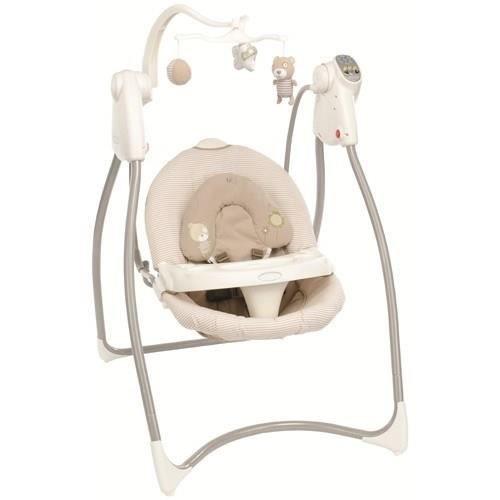 graco balancelle lovin hug swing benny bell beige. Black Bedroom Furniture Sets. Home Design Ideas
