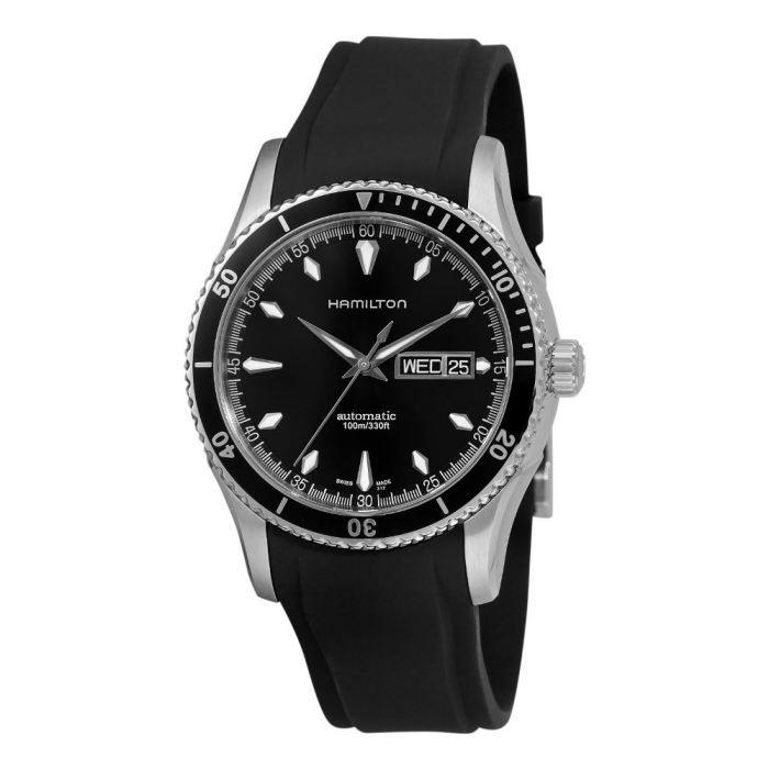 montre homme hamilton jazzmaster seaview h37565331 achat vente montre bracelet. Black Bedroom Furniture Sets. Home Design Ideas