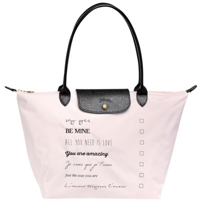 Sac Longchamp Pliage Rose