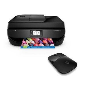HP Imprimante Officejet 4657 4 en 1 - Compatible Instant Ink + HP Souris sans fil Z3700 Noire