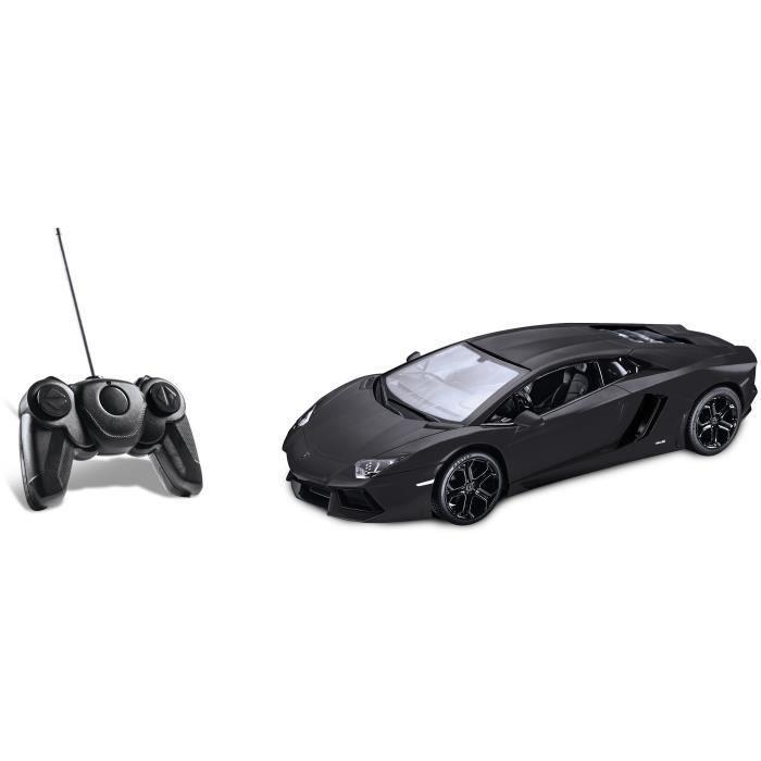 voiture construire lamborghini aventador voiture telecommande noire