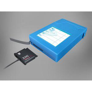 MUKII ZIPO Plus P015U2-BL Boitier externe HDD 3,5\
