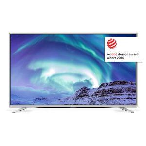SHARP SH18LC49CUF8462ES - TV LED UHD 4K 2160p - Ecran 123cm (49'') - SMART TV - WIFI - HDMI - cadre et pieds Aluminium