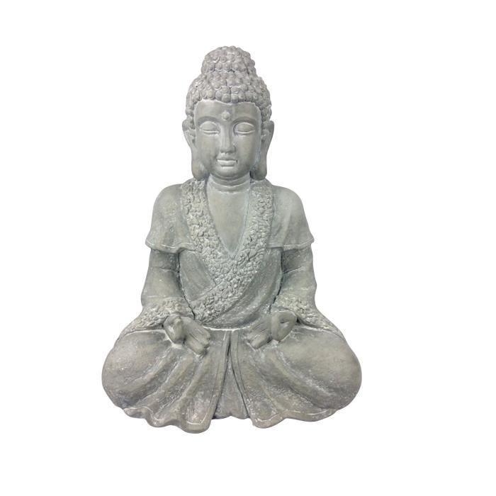 Statue bouddha jardin achat vente statue bouddha jardin pas cher les soldes sur cdiscount for Decoration jardin bouddha