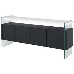 Meubles s jour buffet achat vente meubles s jour - Buffet de salle a manger noir et gris laque cm ...