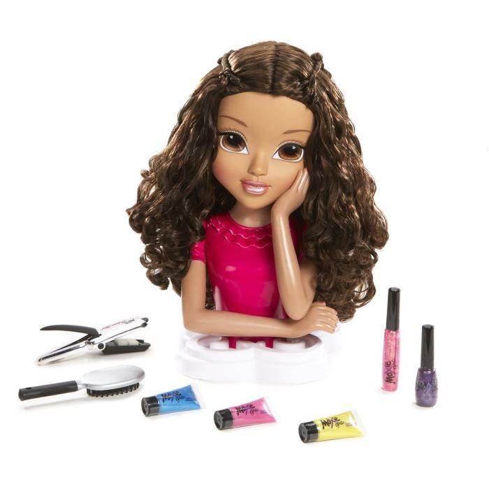 moxie girlz t te a coiffer brune giochi preziosi achat. Black Bedroom Furniture Sets. Home Design Ideas