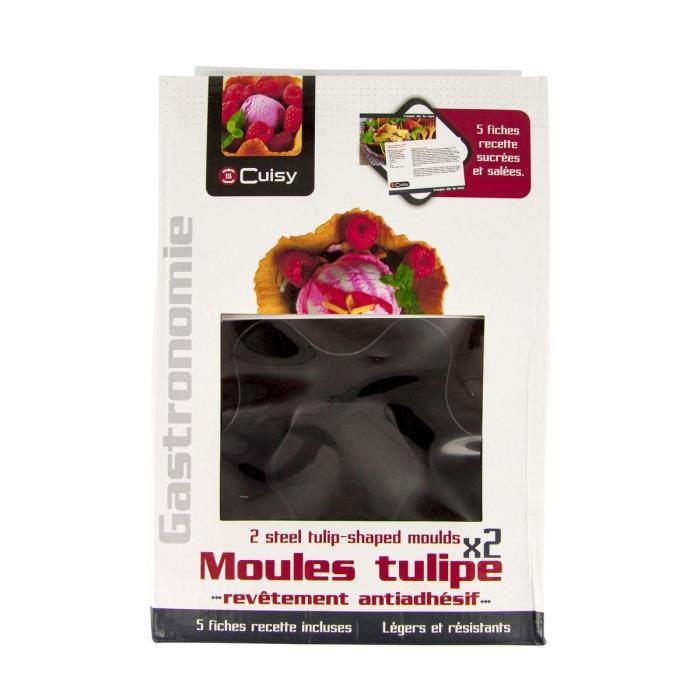 Coffret moule tulipe x2 recettes achat vente moule - Coffret cuisine creative ...