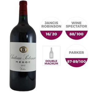 VIN ROUGE Double Magnum Château Potensac Médoc 2012 - Vin ro
