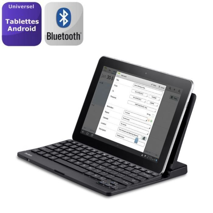 informatique clavier souris webcam belkin bluetooth stand integre android f  fled