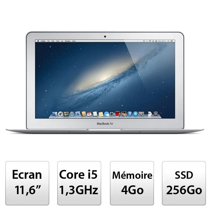 apple macbook air 11 md712f a prix pas cher soldes cdiscount. Black Bedroom Furniture Sets. Home Design Ideas