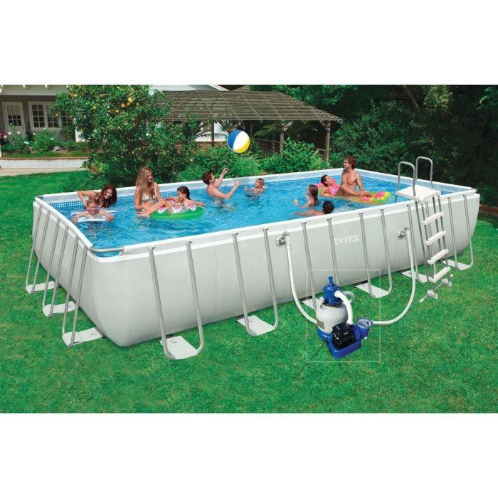 Kit piscine rectangulaire ultra frame achat vente kit for Achat piscine rectangulaire