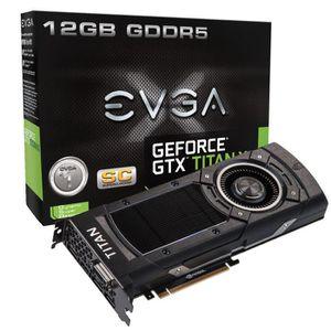 EVGA GeForce GTX Titan X SC 12Go DDR5