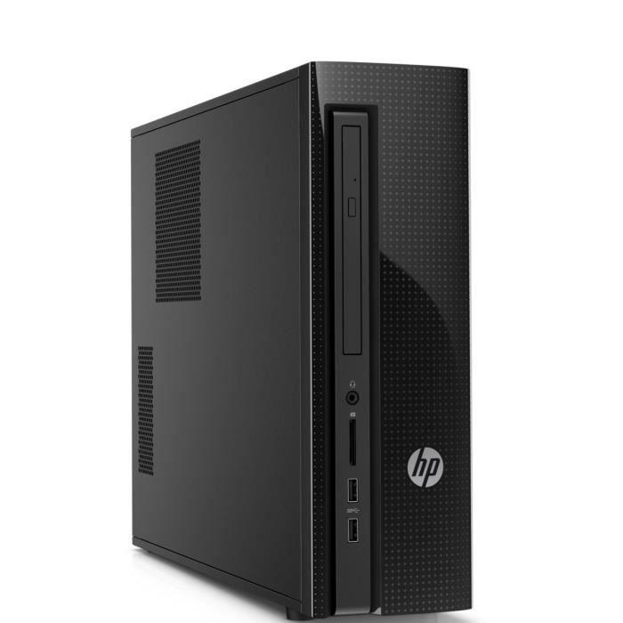 Hp ordinateur de bureau 450 a212nf ram 4 go windows for Pc bureau 64 go ram
