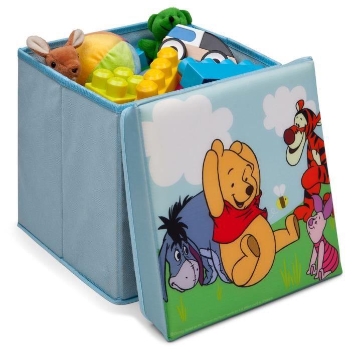 winnie l ourson pouf de rangement achat vente coffre 224 jouets wp pouf de rangement soldes