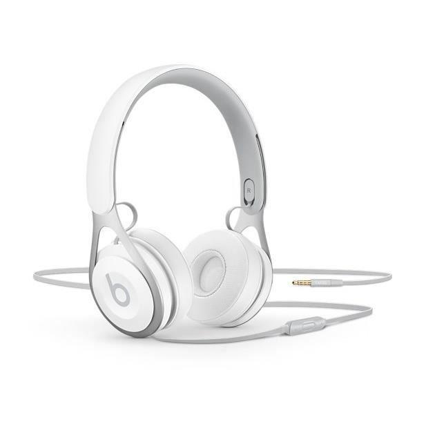 beats ep casque audio avec micro blanc casque couteur audio avis et prix pas cher cdiscount. Black Bedroom Furniture Sets. Home Design Ideas