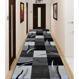tapis couloir 80 cm achat vente tapis couloir 80 cm pas cher cdiscount. Black Bedroom Furniture Sets. Home Design Ideas