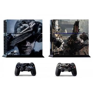 STICKER - SKIN CONSOLE Ghosts Cod 263 Ps4 Ps4 Skins Autocollant Vinly Aut