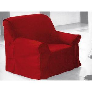Housse fauteuil achat vente housse fauteuil pas cher for Housse de fauteuil extensible pas cher