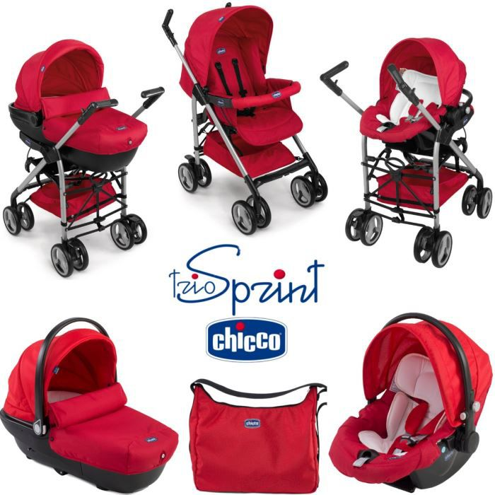 chicco trio sprint red wave red wave achat vente poussette 8058664019274 cdiscount. Black Bedroom Furniture Sets. Home Design Ideas