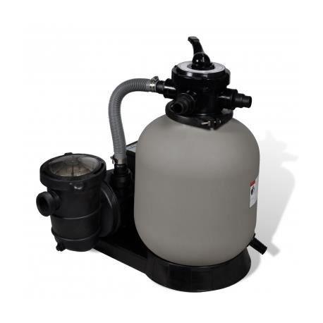 Filtre sable avec pompe de piscine 14 39 39 achat vente for Piscine autoportee 2 44 avec pompe