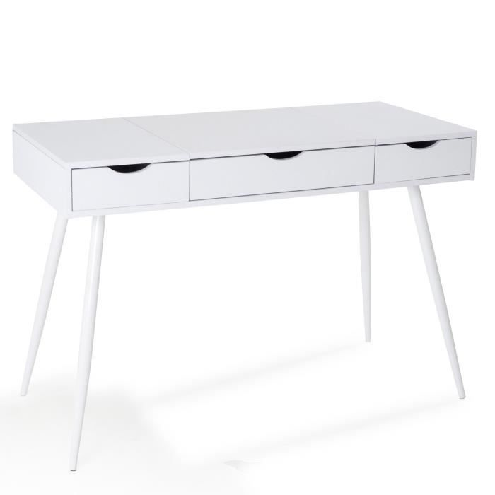 bureau scandinave blanc achat vente bureau scandinave blanc pas cher les soldes sur. Black Bedroom Furniture Sets. Home Design Ideas