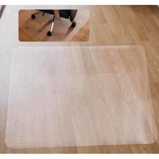 tapis prot ge sol en pvc rectangulair achat vente tapis cdiscount. Black Bedroom Furniture Sets. Home Design Ideas