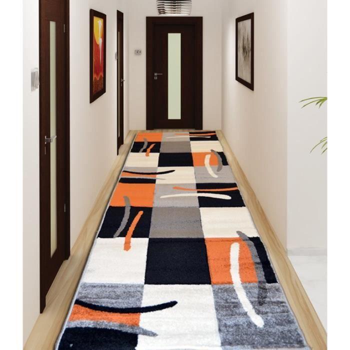tapis de couloir 80x300 achat vente tapis de couloir. Black Bedroom Furniture Sets. Home Design Ideas