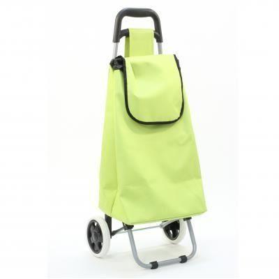 Chariot de course vert vert achat vente poussette de marche 3560238558300 soldes cdiscount - Caddie de course pas cher ...
