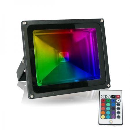 projecteur led 30w rgb multicolore achat vente projecteur led 30w rgb mult cdiscount. Black Bedroom Furniture Sets. Home Design Ideas