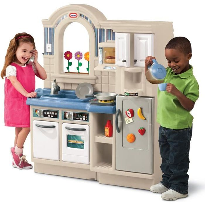 Little tikes cuisine enfant style am ricaine cook grill for Achat cuisine americaine