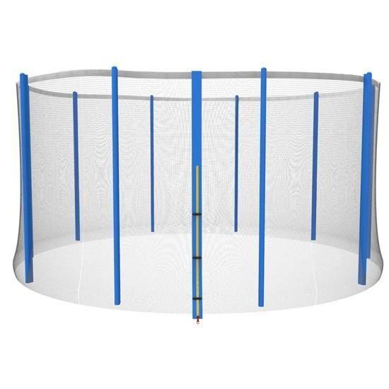 accessoire pour trampoline filet de s curit env 457 cm achat vente acc de trampoline. Black Bedroom Furniture Sets. Home Design Ideas