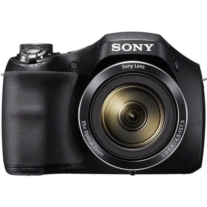 sony dsc h300 ccd 20 mp zoom 35x appareil photo. Black Bedroom Furniture Sets. Home Design Ideas